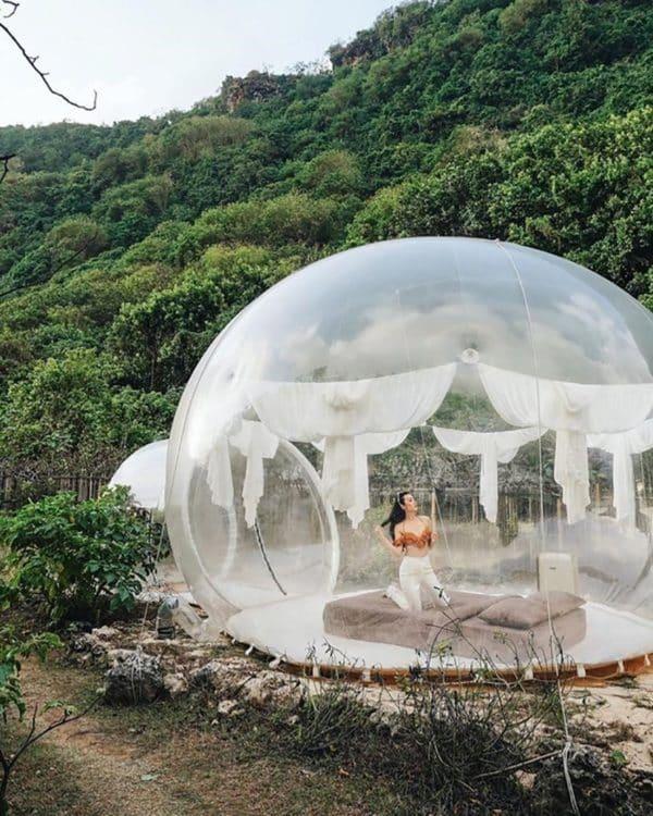 Ghé Bubble Hotel – Khách sạn bong bóng y hệt Bali