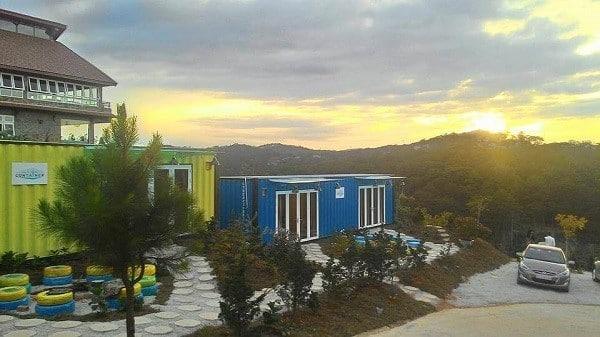 Hotel Container- Địa chỉ Homestay Đà Lạt view săn mây