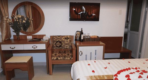 Tiện nghi trong phòng khách sạn Đà Lạt Luxury