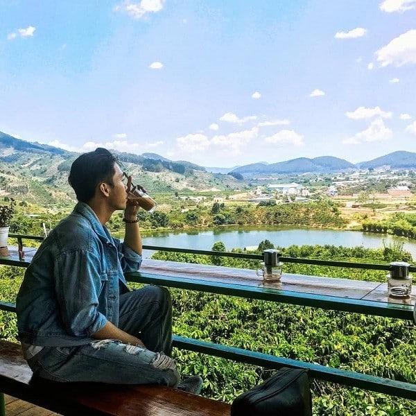 Checkin từ du khách ghé thăm Cà phê Mê Linh