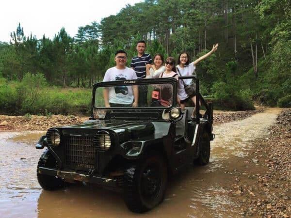 Xe Jeep, khám phá thiên nhiên hoang vu