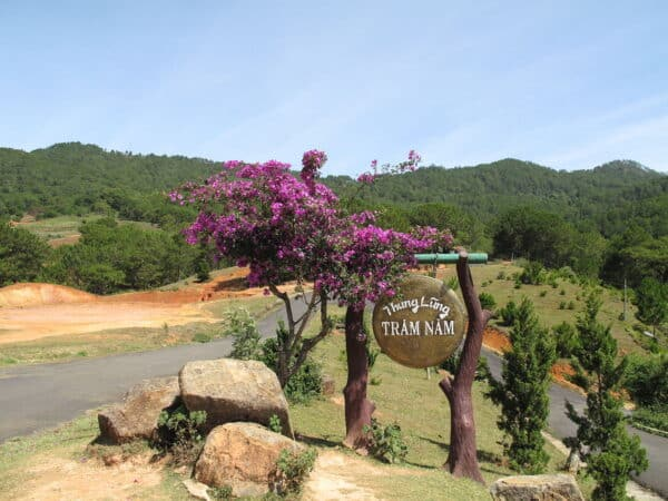 Thung lũng Trăm Năm ở Langbiang