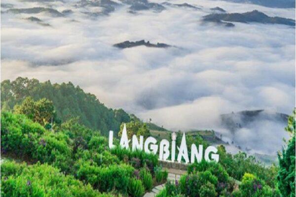 Quang cảnh thiên nhiên tuyệt mỹ ở Langbiang