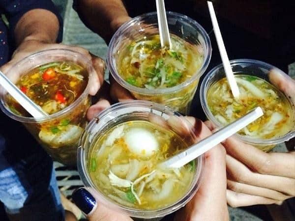 Món ăn vặt Súp cua ở Đà Lạt