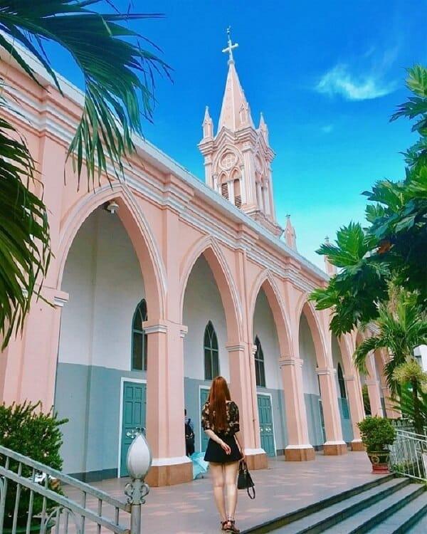 Hình ảnh check-in nhà thờ con gà trống Đà Lạt - Ảnh 3