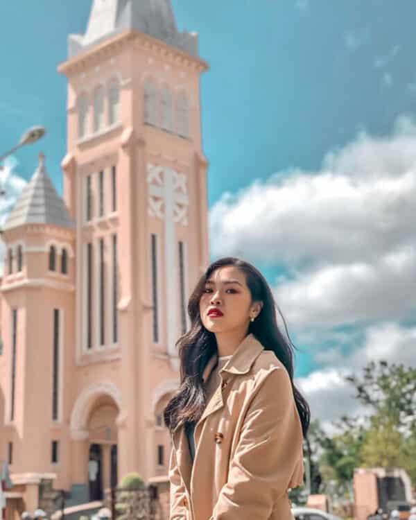 Hình ảnh check-in nhà thờ con gà trống Đà Lạt - Ảnh 4