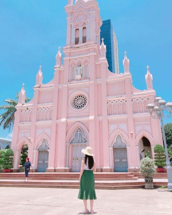 Hình ảnh check-in nhà thờ con gà trống Đà Lạt - Ảnh 5
