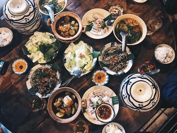 Quán ăn trưa gia đình Lá Chuối ở Đà Lạt
