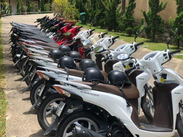 Thuê xe máy tham quan Đà Lạt uy tín