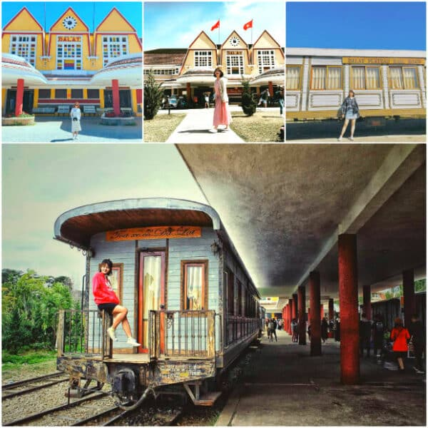 Dalat Railway Station - A nostalgic corner of the past
