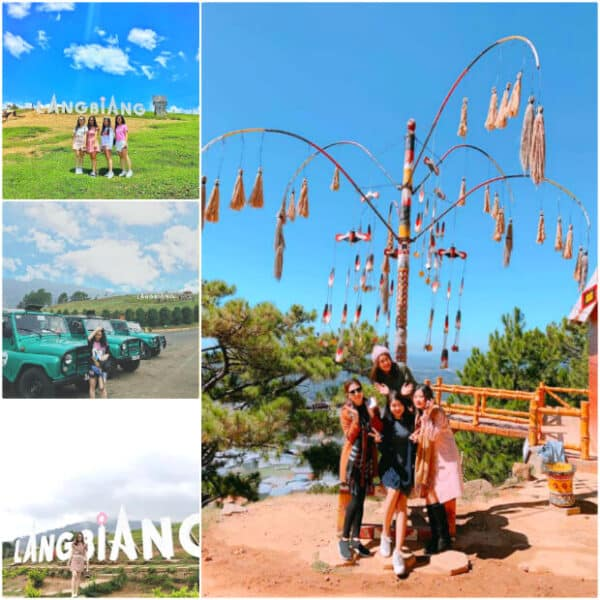 LangBiang Tourist Area - Where you can see the full beauty of Dalat city