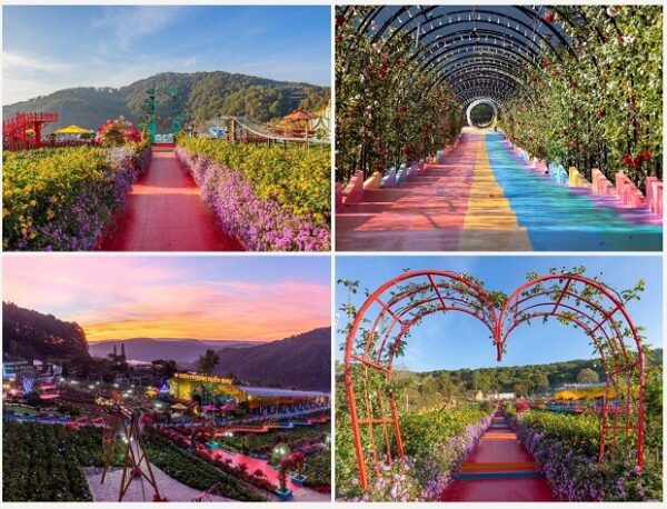 Thuong Uyen Bay Garden - Large flower garden in the suburbs of Da Lat, this new destination in 2021