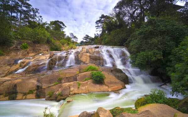 Wild beauty of Camly waterfall