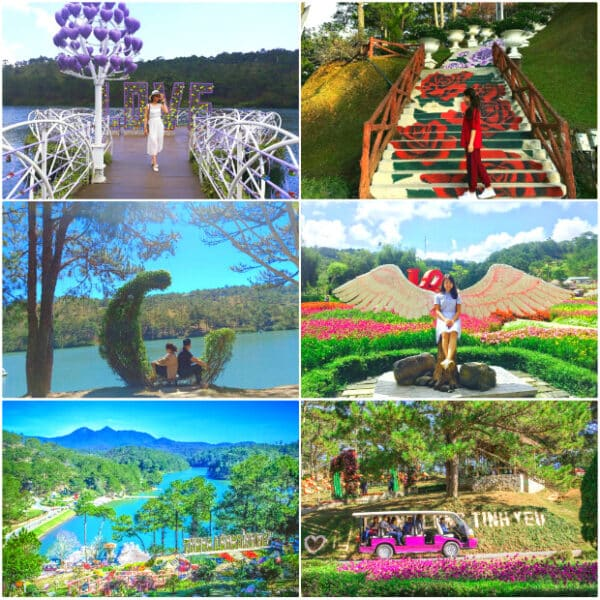 Valley of Love - A destination not to be missed when coming to Dalat