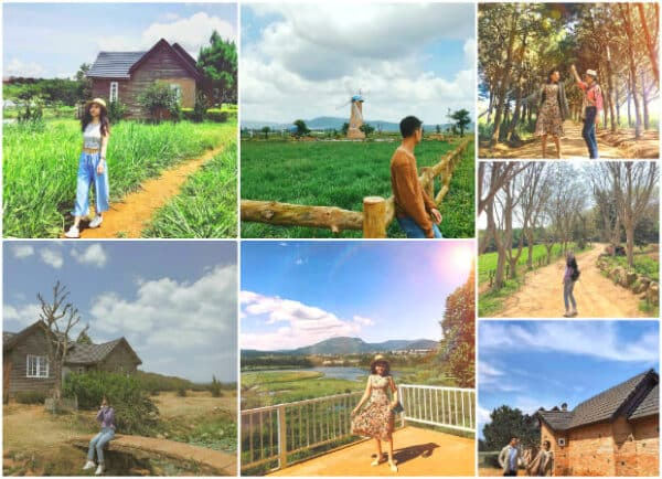 Dalat Milk Farm - Thousands of virtual living corners