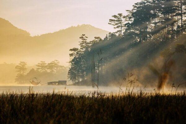 Hồ Tuyền Lâm những ngày nắng