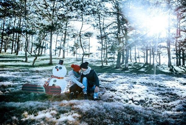 Mùa đông khách du lịch nên chụp hình ở đâu Đà Lạt?