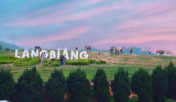Tham quan núi Langbiang