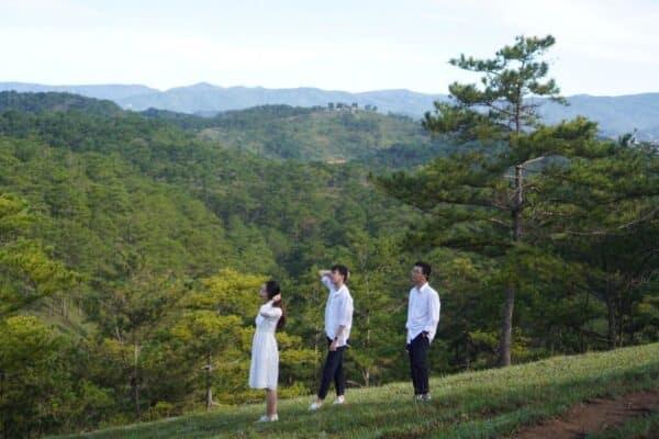 Checkin đồi Đa Phú ở Đà Lạt