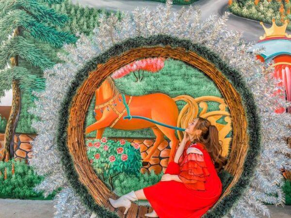 Vườn thượng uyển bay: Hình ảnh checkin từ cộng đồng mạng - Ảnh 4