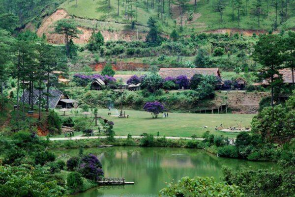 Vùng ngoại ô Đà Lạt xinh xắn