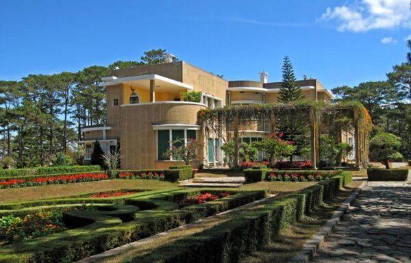 Hình ảnh dinh 2 Bảo Đại ở Đà Lạt