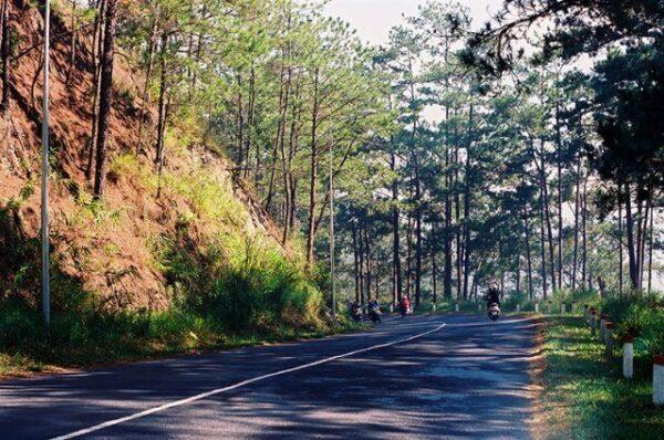 Con đường đèo đưa bạn đến thác Voi