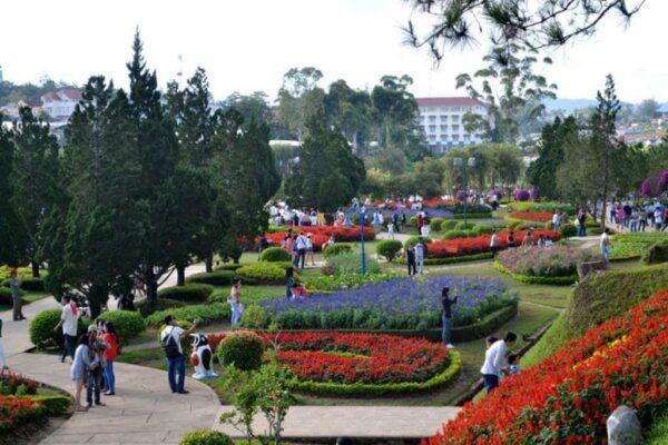 Vườn hoa thành phố: Điểm du lịch Đà Lạt tháng 3