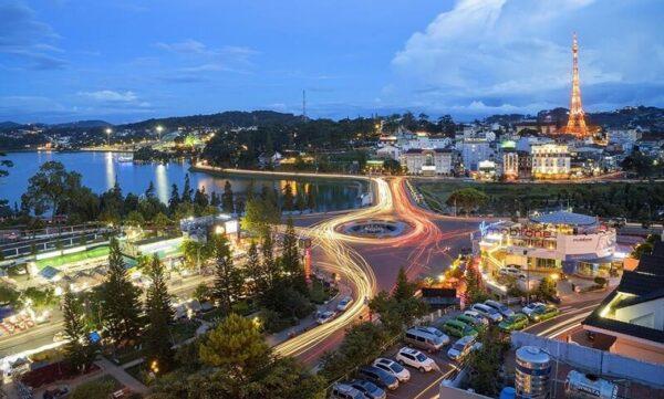 Những con đường nội ô thành phố Đà Lạt
