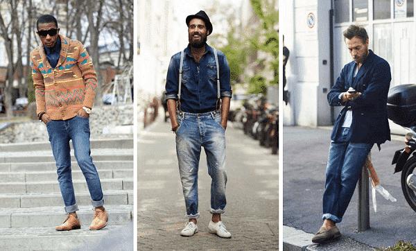 Áo denim và quần jeans