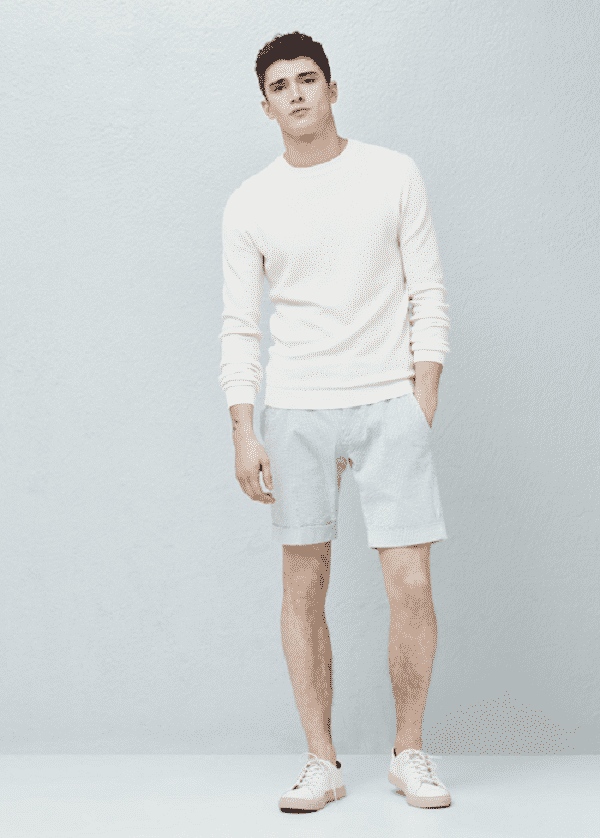 Quần short và áo nỉ
