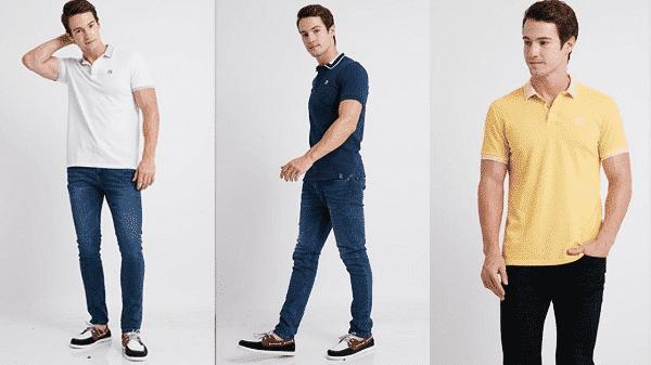 Áo polo và quần jeans