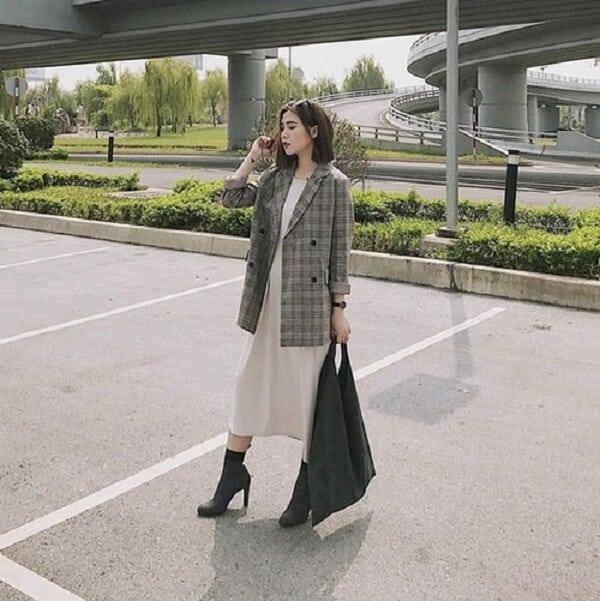 Áo Len, váy và blazer