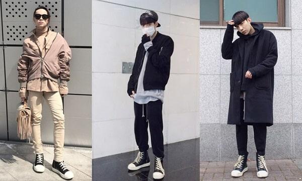 Áo thun, áo măng tô và quần jogger