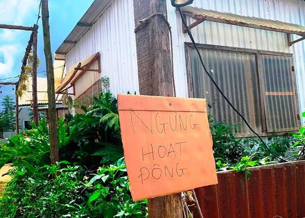Một homestay bị ngưng hoạt động do không đảm bảo các yêu cầu theo quy định