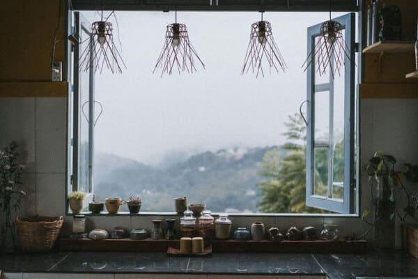 Căn bếp nhỏ tại Stay, Feel & Love
