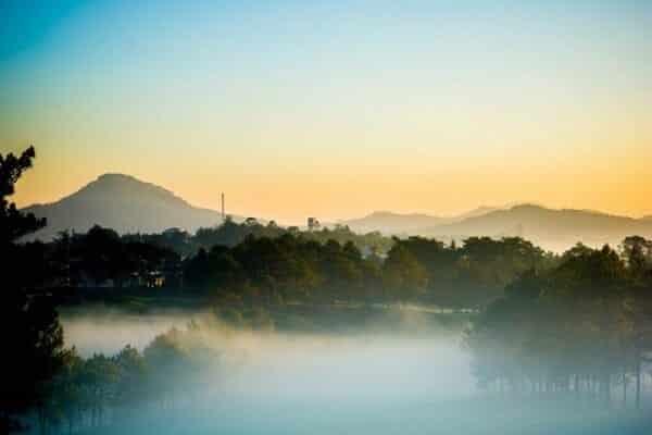 View nhìn từ Bonjour Đà Lạt