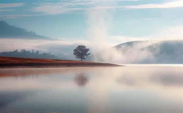 Săn mây ở hồ suối vàng Đà Lạt
