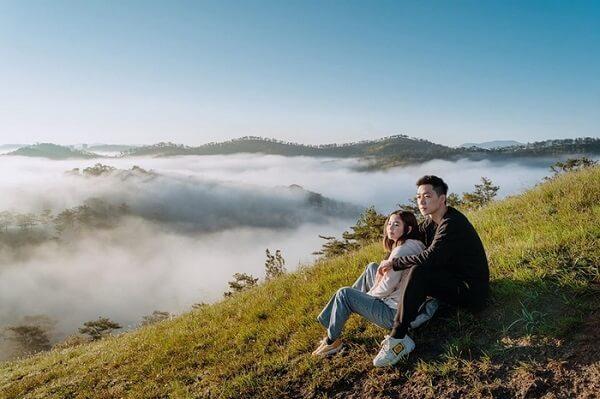 Săn mây ở đỉnh Hòn Bồ Đà Lạt