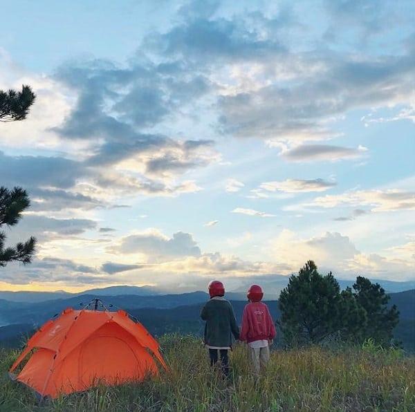 Cắm trại săn mây đồi Du Sinh Đà Lạt