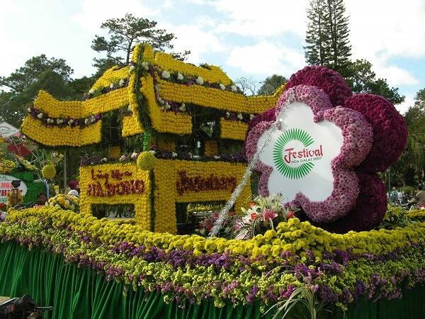 Kỳ Festival Hoa Đà Lạt 2007