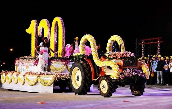 Lễ hội Festival Hoa Đà Lạt lần thứ 6 diễn ra vào năm 2015