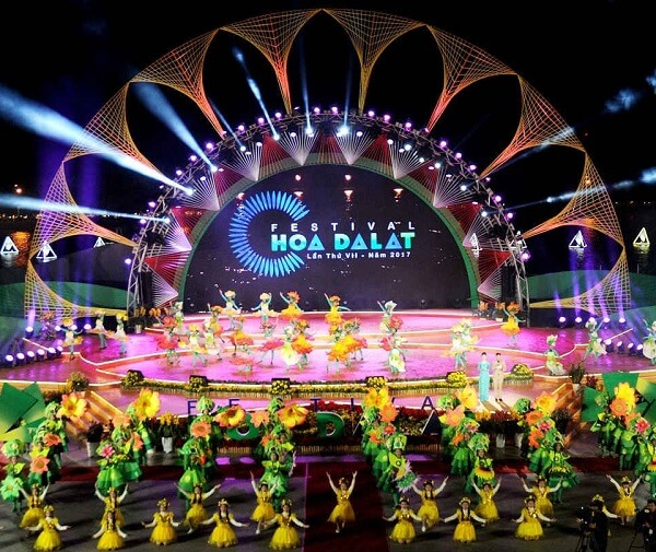 Festival hoa Đà Lạt năm 2017 có 15 chương trình chính và 14 chương trình hưởng ứng