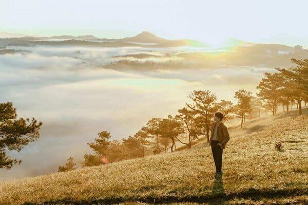 Săn mây và cắm trại trên đồi Đa Phú