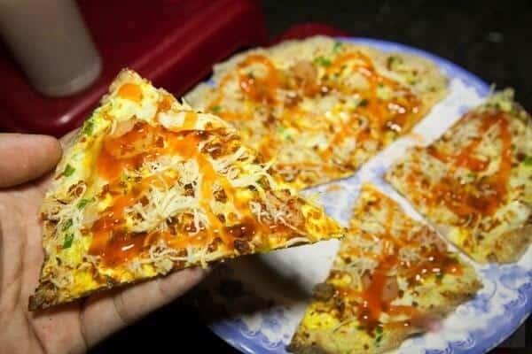 Món bánh tráng nướng nổi tiếng của Đà Lạt