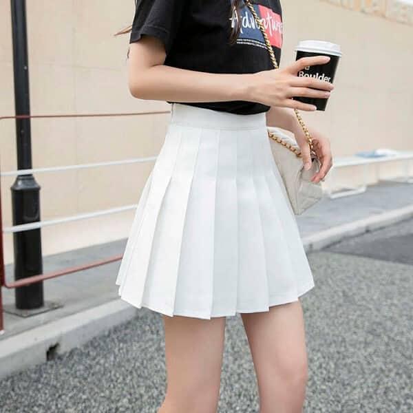 Chân váy tennis phù hợp với mọi vóc dáng