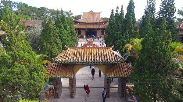 Nét đặc trưng riêng của Thiền Viện Trúc Lâm