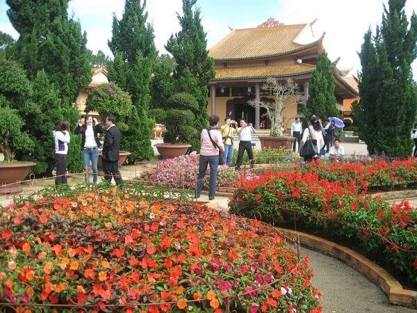 Hình ảnh Thiền viện Trúc Lâm Đà Lạt từ khách du lịch