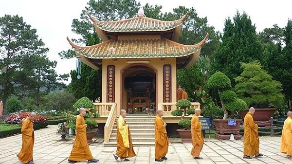 Những hoạt động tại Thiền Viện Trúc Lâm Đà Lạt